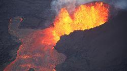 ハワイ最大の淡水湖が数時間で蒸発 キラウエア火山のマグマが流れ込む