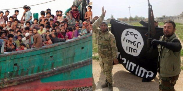 IS(イスラム国)の魔の手がロヒンギャに迫る