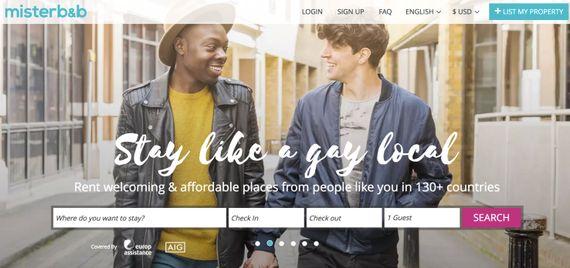 LGBTQコミュニティ向けのAirbnb、Misterb&bが850万ドルを調達