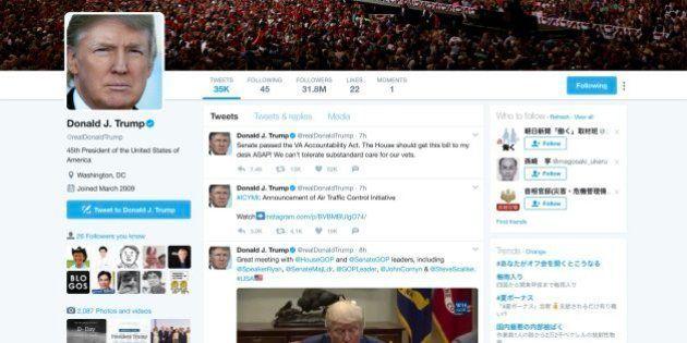 トランプ氏、Twitterブロックしたら「憲法違反」?