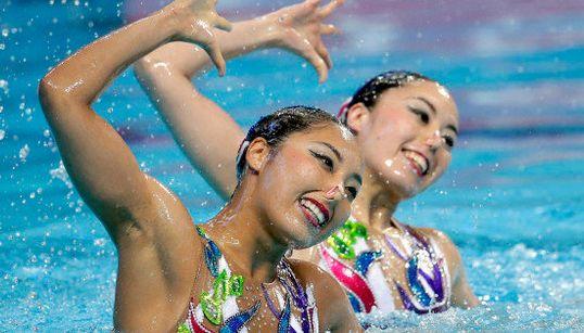 日本、水泳世界選手権シンクロで4大会ぶりの銅メダル 帰ってきた井村コーチの効果?