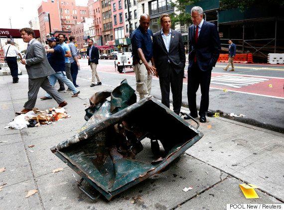 ニューヨーク爆発、FBIが5人を拘束