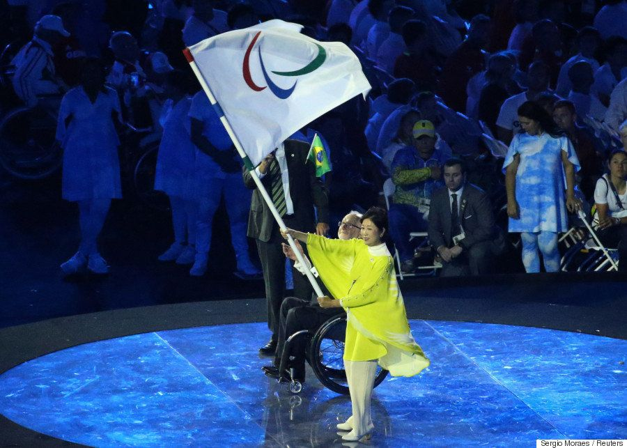パラリンピック閉会式で東京大会をPR