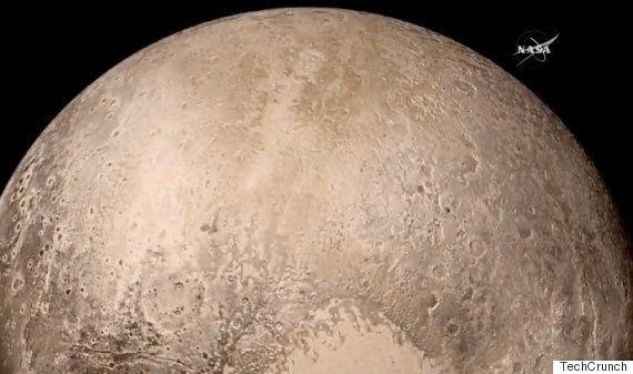 冥王星にも大気があった 金環日食のような幻想的な写真
