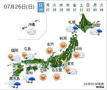 各地で厳しい暑さ 猛暑日地点続出か