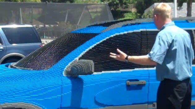 【ビデオ】驚愕の出来! レゴスタッフがイタズラで作った実物大ボルボ
