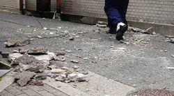 大阪府内で17万戸が停電 大阪府北部で震度6弱