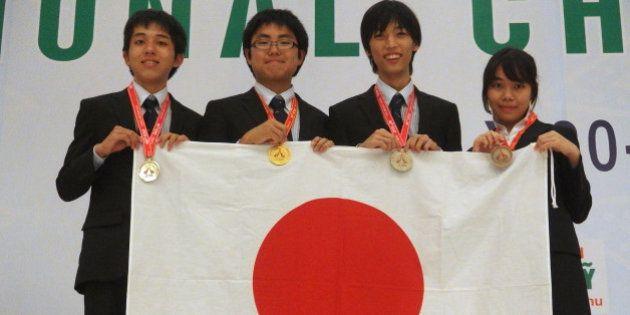 国際化学オリンピック 金1個、銀2個、銅1個