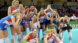 セルビア女子バレー選手が日本人差別か