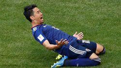 香川真司がPK決める。対コロンビア、前半6分で先制(ワールドカップ)