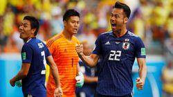 《ワールドカップ》日本がコロンビアに勝利。香川と大迫がゴール決める。