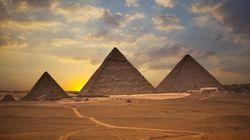 エジプト・ギザの3大ピラミッド近くで古王国時代の壁画が発見される(画像)