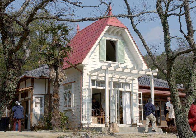 再現された「サツキとメイの家」=愛知県長久手市