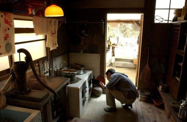 再現された「サツキとメイの家」の台所