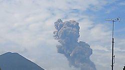 霧島山(新燃岳)で爆発的噴火