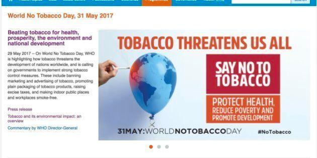 WHOが進める世界禁煙デーとは たばこ受動喫煙の死者「毎年89万人」