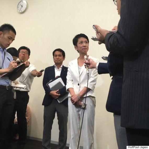 蓮舫氏「台湾籍残っていた」と発表 「二重国籍」状態認める