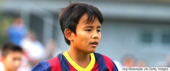 久保建英、中学生Jリーガーに 元バルサユース所属、FC東京