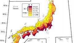 震度6弱以上の地震予測、日本地図に当てはめると…⇒千葉市85%、横浜市82%