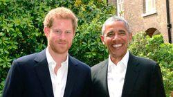 オバマ前大統領「友人のヘンリー王子と会えて良かった」