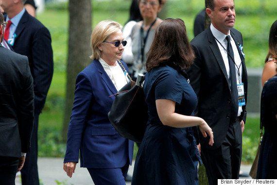 ヒラリー・クリントン氏が肺炎 9.11の式典は脱水症状で途中退席(動画)