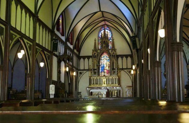 国宝「大浦天主堂」の内部