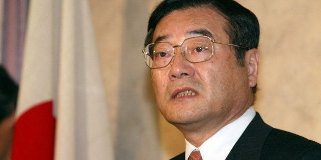 402474 02: Koichi Kato, a Liberal Democratic Party parliament member and faction leader who was once...