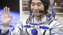 油井亀美也さん、宇宙に旅立つ