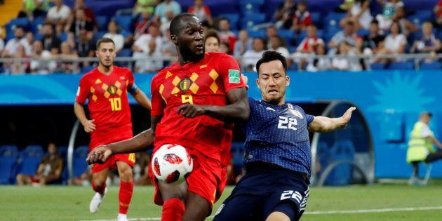日本対ベルギー戦