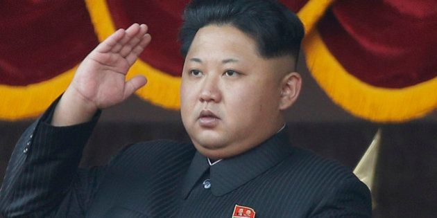 FILE - In this Oct. 10, 2015, file photo, North Korean leader Kim Jong Un salutes at a parade in Pyongyang,...