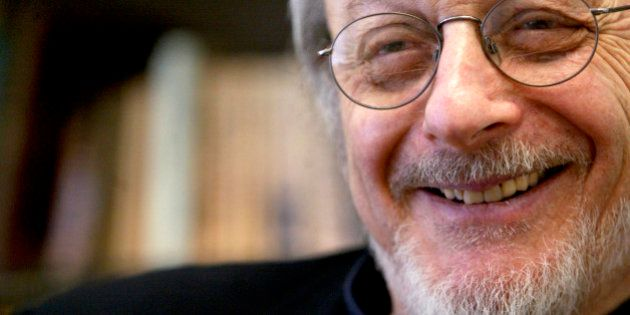 FILE - In this April 27, 2004, file photo, American author E.L. Doctorow smiles during an interview in...