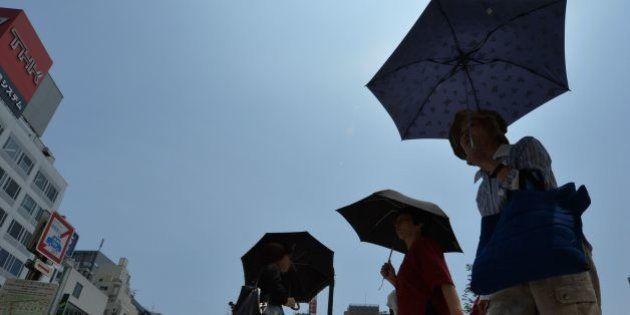 猛暑日、東京都心で今年初