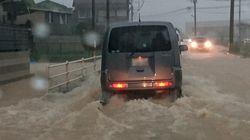大雨特別警報が発表 福岡、佐賀、長崎で