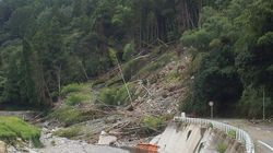 がけ崩れと土石流の前兆、見つけたらすぐに避難