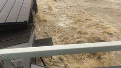 岡山・真備で川が氾濫。「助けてください!」切迫した声がTwitterにあふれる【UPDATE】