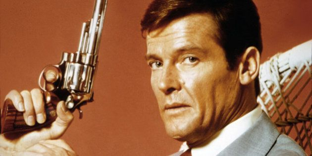 Actor Roger Moore on the set of 'Live And Let Die'. (Photo by Sunset Boulevard/Corbis via Getty