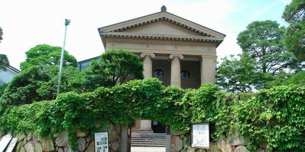 美観地区にある大原美術館=岡山県倉敷市
