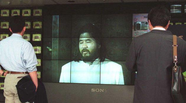 元代表の松本智津夫(麻原彰晃)元死刑囚。撮影日:1996年04月24日