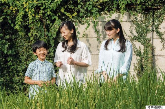 悠仁さまが10歳に 眞子さま、佳子さまとともに田んぼ作り【