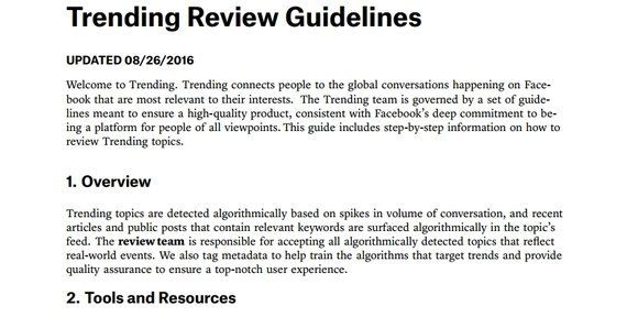 編集者を解雇したフェイスブック、アルゴリズムがデマをピックアップする