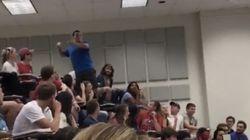 「2階席からゴミ箱に入れたら全員テスト満点」教授の挑発に学生が奇跡を起こす(動画)