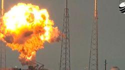 スペースXのロケットが爆発。搭載の衛星も失う【動画】