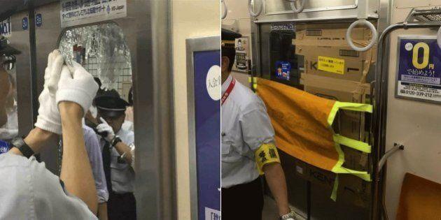 朝ラッシュの東急田園都市線、乗客が頭ぶつけて窓ガラス割れる