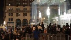 【iPhone】新しいiPhoneのために行列する人たちに聞いてみた、根本的な疑問(動画)