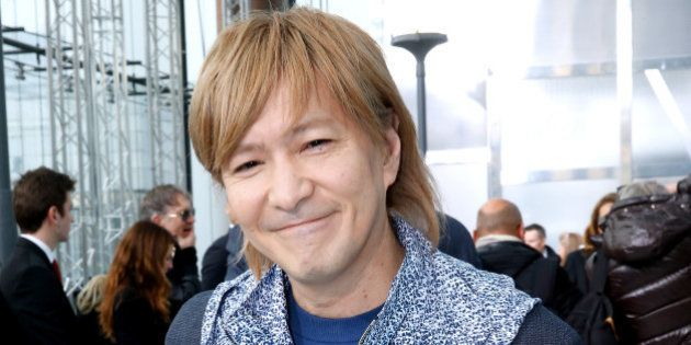 PARIS, FRANCE - JANUARY 22: Musician Tetsuya Komuro attends the Louis Vuitton Menswear Fall/Winter 2015-2016...