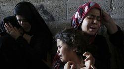 ガザ:空爆の死者拡大 地上戦に高まる懸念