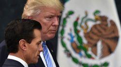 ドナルド・トランプ氏、メキシコ大統領と会談「国境の壁の費用については話していない」