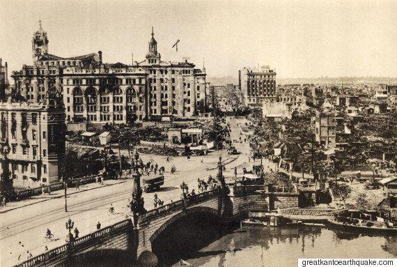 関東大震災から93年 銀座、浅草、上野...東京の街は廃墟と化した(画像100枚)