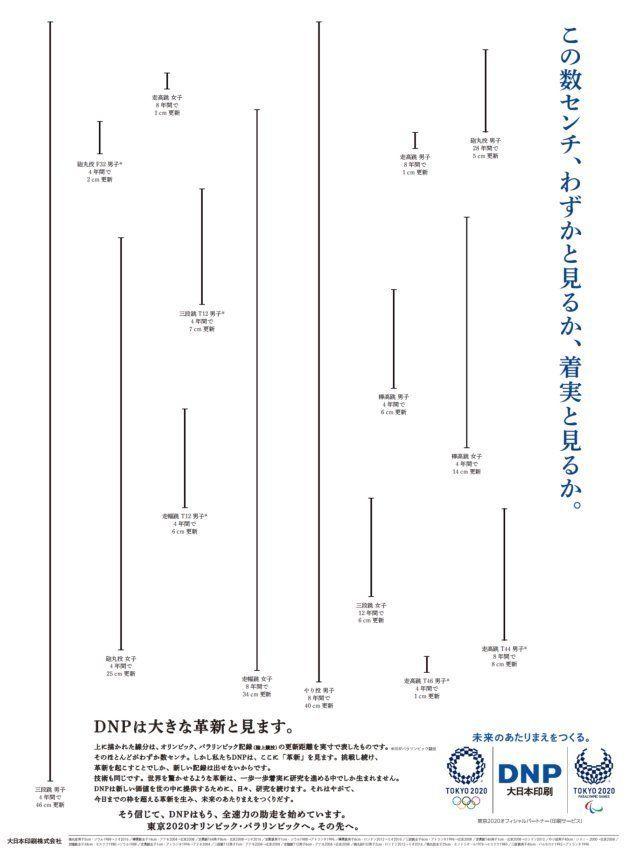 朝日新聞に掲出した全面広告