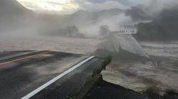 北海道・空知川、岩手・久慈など各地で氾濫、堤防が決壊